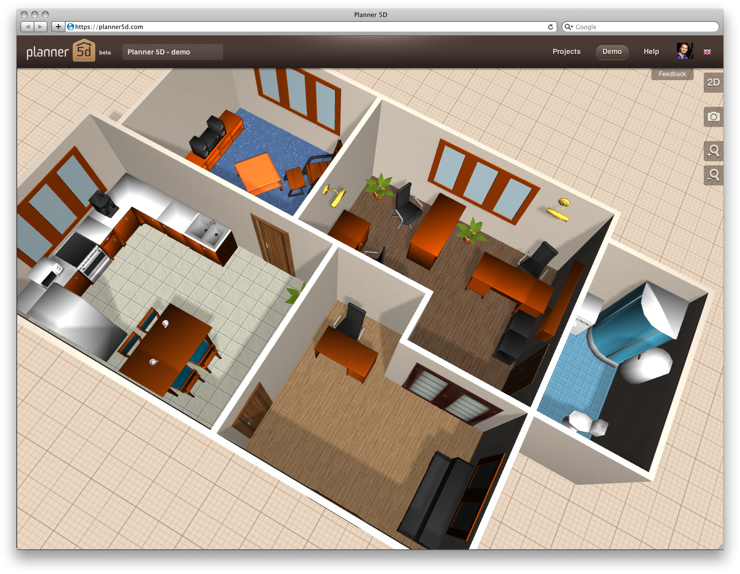 Top planos de casas para construir images for pinterest for Planos de casas 3d